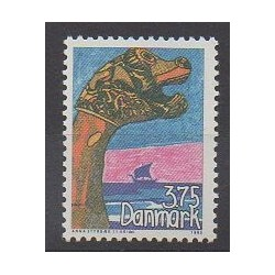 Danemark - 1993 - No 1065 - Dessins d'enfants - Philatélie