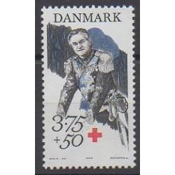 Danemark - 1994 - No 1082 - Santé ou Croix-Rouge