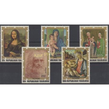 Timbres - Thème tableaux - Togo - 1972 - No 755/756 - PA185/187