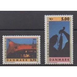 Denmark - 1995 - Nb 1108/1109 - Tourism