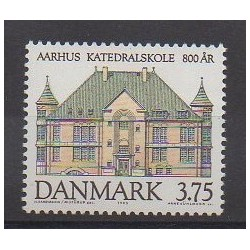Danemark - 1995 - No 1097 - Architecture