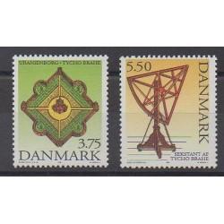Denmark - 1995 - Nb 1113/1114 - Astronomy