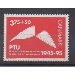 Danemark - 1995 - No 1110 - Santé ou Croix-Rouge