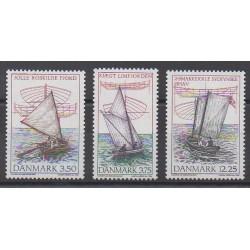 Denmark - 1996 - Nb 1130/1132 - Boats