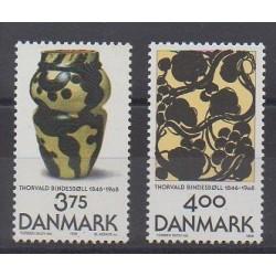 Denmark - 1996 - Nb 1139/1140 - Art