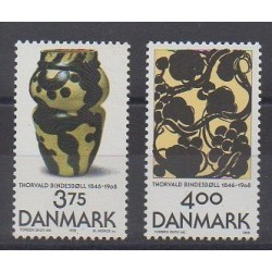 Danemark - 1996 - No 1139/1140 - Art