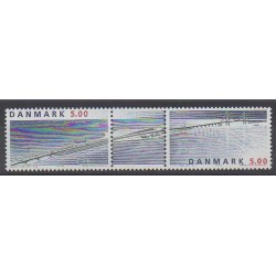 Denmark - 1998 - Nb 1185/1186 - Bridges