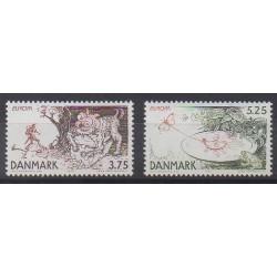 Denmark - 1997 - Nb 1161/1162 - Literature - Europa