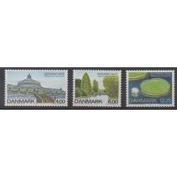 Denmark - 2001 - Nb 1270/1272 - Parks and gardens