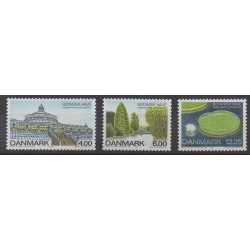 Danemark - 2001 - No 1270/1272 - Parcs et jardins