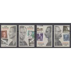 Danemark - 2001 - No 1290/1293 - Philatélie - Timbres sur timbres