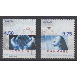 Danemark - 2001 - No 1280/1281 - Europa
