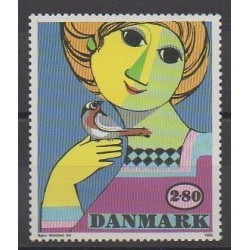 Danemark - 1986 - No 859 - Peinture