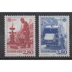 Danemark - 1986 - No 881/882 - Environnement - Europa