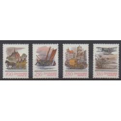 Denmark - 1986 - Nb 862/865 - Postal Service - Philately