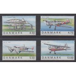 Denmark - 2006 - Nb 1443/1446 - Planes