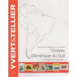 Timbres d'Amérique du sud de Argentine à Vénézuela (Edition 2019)