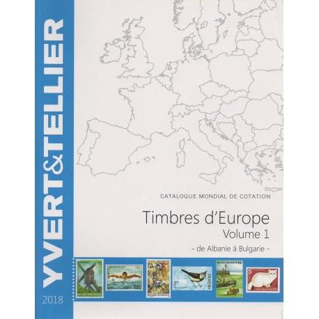 Timbres d'Europe : Volume 1 de Albanie à Bulgarie (Edition 2014)