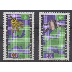 Turquie - 1991 - No 2669/2670 - Espace - Europa
