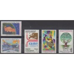 Turquie - 1991 - No 2671/2675