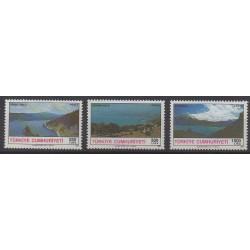 Turquie - 1991 - No 2666/2668 - Sites