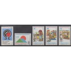Turquie - 1991 - No 2681/2685