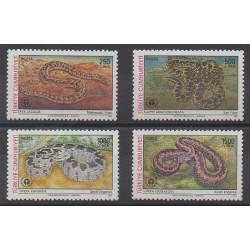 Turquie - 1991 - No 2686/2689 - Reptiles