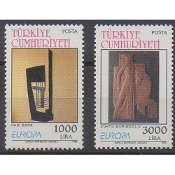 Turkey - 1993 - Nb 2732/2733 - Art - Europa