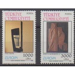 Turquie - 1993 - No 2732/2733 - Art - Europa