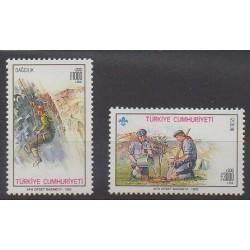 Turquie - 1992 - No 2721/2722 - Scoutisme