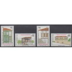 Turquie - 1995 - No 2800/2803 - Architecture