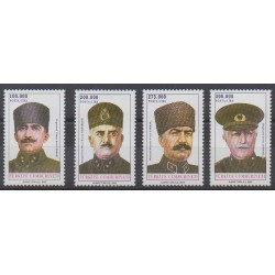 Turkey - 2000 - Nb 2965/2968 - Military history