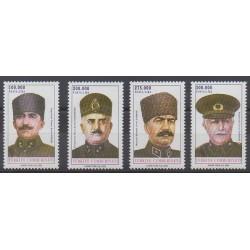 Turquie - 2000 - No 2965/2968 - Histoire militaire
