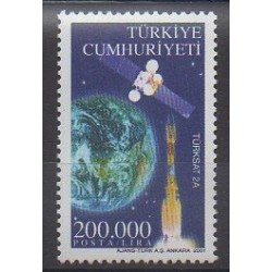 Turkey - 2001 - Nb 2984 - Space
