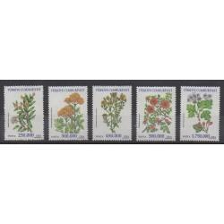 Turquie - 2001 - No 2995/2999 - Fleurs