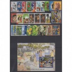 Polynésie - Année complète - 2002 - No 656/681 - BF28