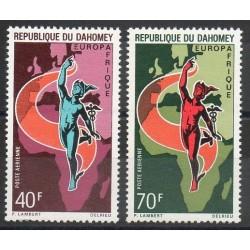 Dahomey - 1970- No PA 130 / PA 131 - Europe