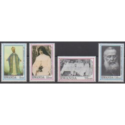 Rwanda - 1993 - No 1320/1323 - Religion