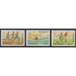 Rwanda - 1993 - No 1317/1319 - Jeux Olympiques d'été