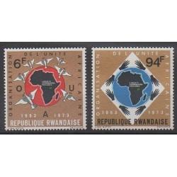 Rwanda - 1973 - Nb 535/536 - Various Historics Themes