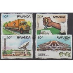 Rwanda - 1986 - Nb 1198/1201