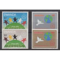 Rwanda - 1986 - Nb 1225/1228