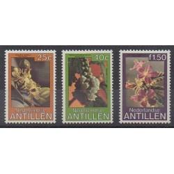 Antilles néerlandaises - 1979 - No 585/587 - Fleurs