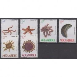 Mozambique - 1982 - Nb 897/902 - Sea animals