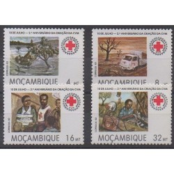 Mozambique - 1983 - Nb 916/919 - Health