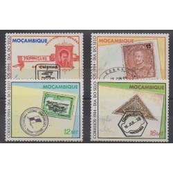 Mozambique - 1984 - Nb 979/982 - Stamps on stamps