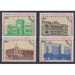 Mozambique - 1986 - Nb 1046/1049 - Postal Service