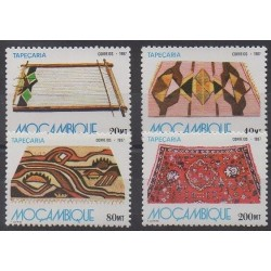 Mozambique - 1987 - Nb 1072/1075 - Art