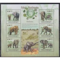 Mozambique - 2010 - Nb 2968/2973 - Mamals