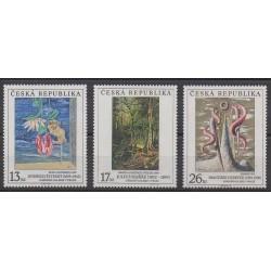 Czech (Republic) - 1999 - Nb 231/233 - Paintings